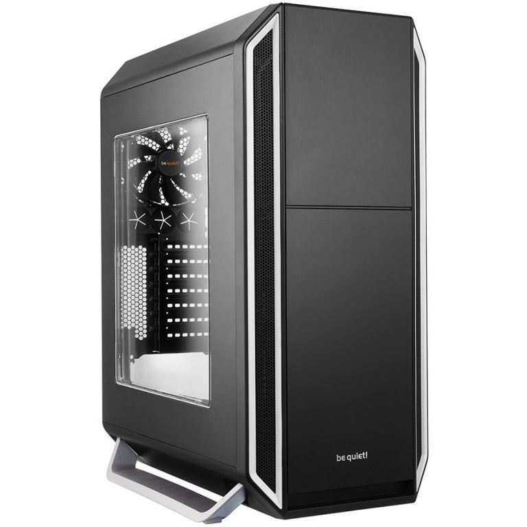be quiet! SILENT BASE 800 Silver with Window