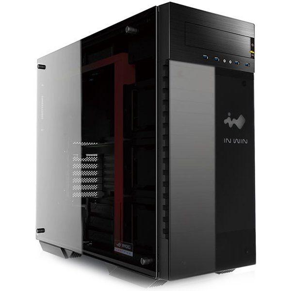 Chassis In Win 509 Full Tower SECC, Tempered Glass, E-ATX, ATX, Micro-ATX, Mini-ITX, Front Ports 4xUSB 3.0 HD Audio, 527x23x578, 3×120/2 x 140mm Front Fan / 360mm Radiator,3×120/2x140mm Internal Fan/360mm radiator 1×120, Black/Red