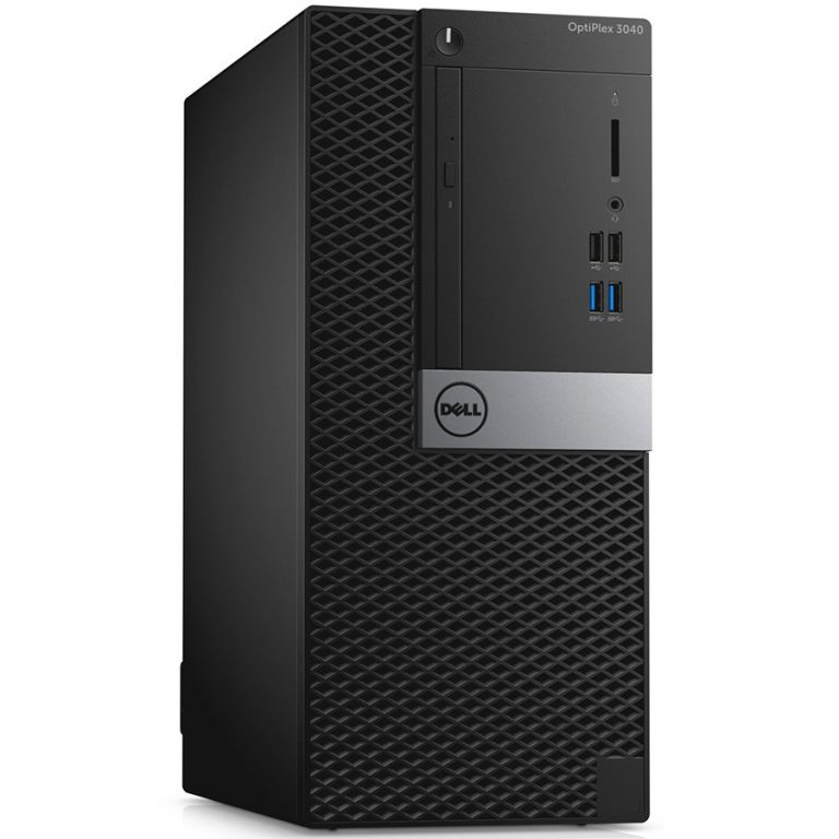 Dell Optiplex 3040 MiniTower, Intel Core i5-6500 (6MB Cache, 3.2GHz), 4GB (1x4GB) DDR3 1600MHz, 500GB SATA 3.5-inch (7200 Rpm), Intel Graphics, DVD+/-RW, Dell MS116 Mouse, KB216 Keyb, Windows 10 Pro 64bit (License & Media), 3Yr NBD