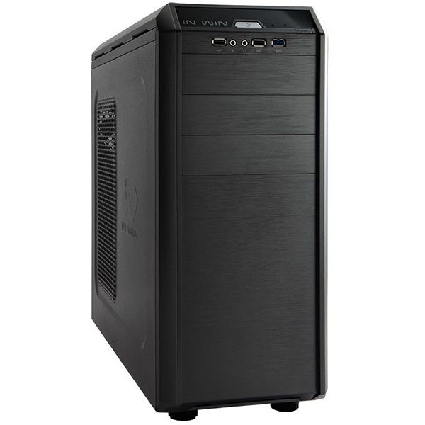 Chassis In Win G7 Mid Tower, SECC, ATX, Micro-ATX, Front Ports	1xUSB 3.0 2xUSB 2.0 HD Audio, CPU die surface to side panel height: 160mm, 8x120mm FAN sup, Black