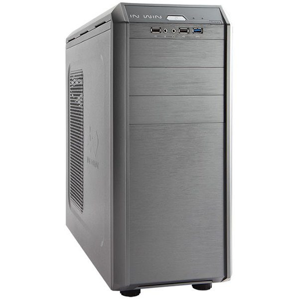 Chassis In Win G7 Mid Tower, SECC, ATX, Micro-ATX, Front Ports	1xUSB 3.0 2xUSB 2.0 HD Audio, CPU die surface to side panel height: 160mm, 8x120mm FAN sup, Grey