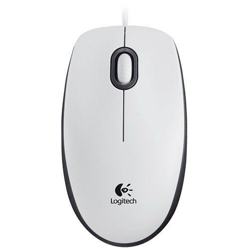 LOGITECH Corded Mouse M100 – EMEA – WHITE
