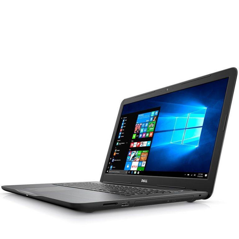 Notebook DELL Inspiron 5767 17.3 (1600 x 900) Anti-Glare, i3-6006U up to 2.00 GHz, RAM 4GB, HDD 1TB, AMD R7 M445  4G GDDR5, Ubuntu, Bulgarian Qwerty Keyboard, DVD, Black, 2Y CIS