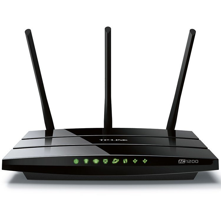 AC1200 Dual Band Wireless Gigabit Router, 867Mbps at 5GHz + 300Mbps at 2.4GHz, 802.11ac/a/b/g/n, 1×10/100/1000M WAN +4×10/100/1000M LAN, 2xUSB 2.0, 3х Ext Antennas