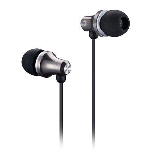 FENDA SPIRO E260_DG GRAY Stereo Earphones with inline microphone