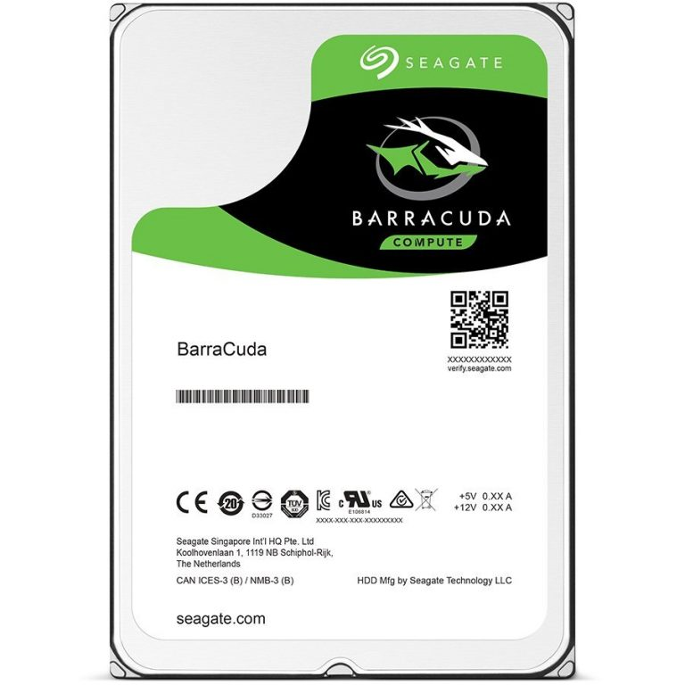 SEAGATE HDD Desktop Barracuda Guardian (3.5″/4TB/SATA 6Gb/s/rpm 5400)