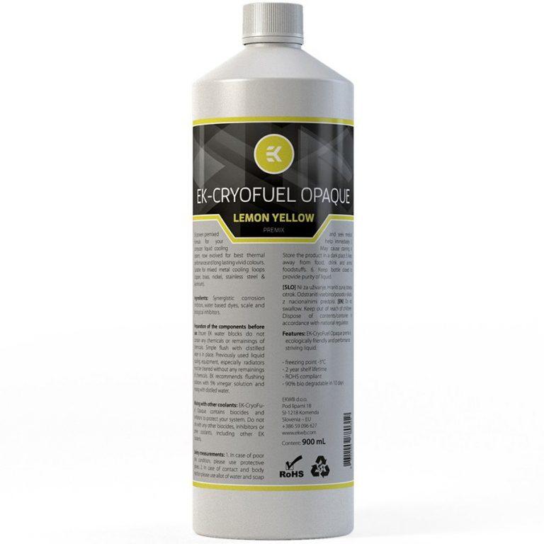 EK-CryoFuel Lime Yellow Premix 900 mL