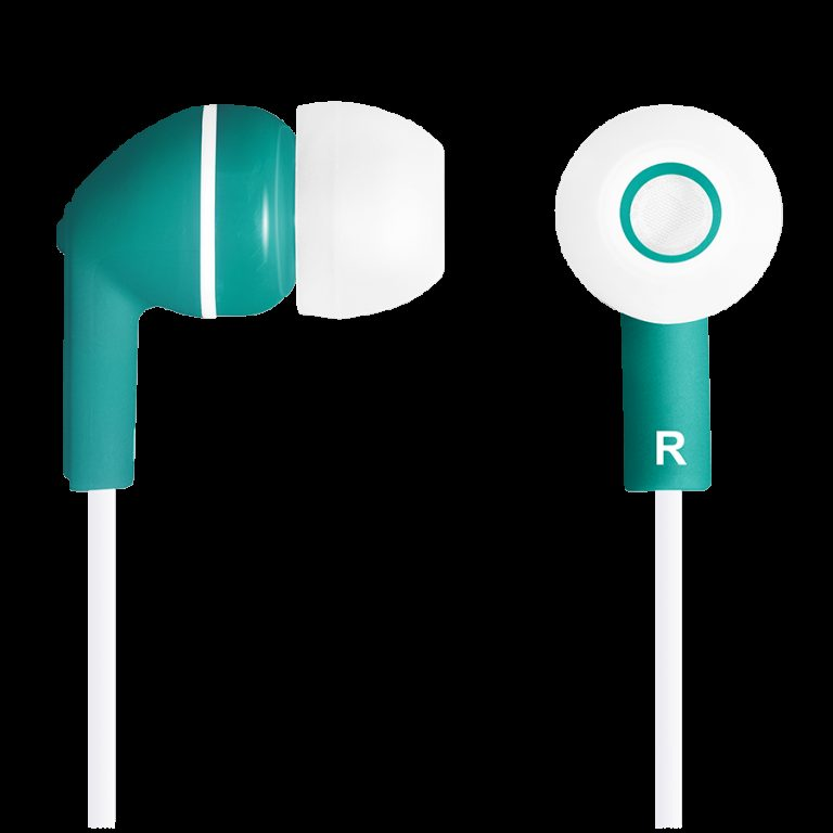 CANYON Stereo earphones with micophone, Green