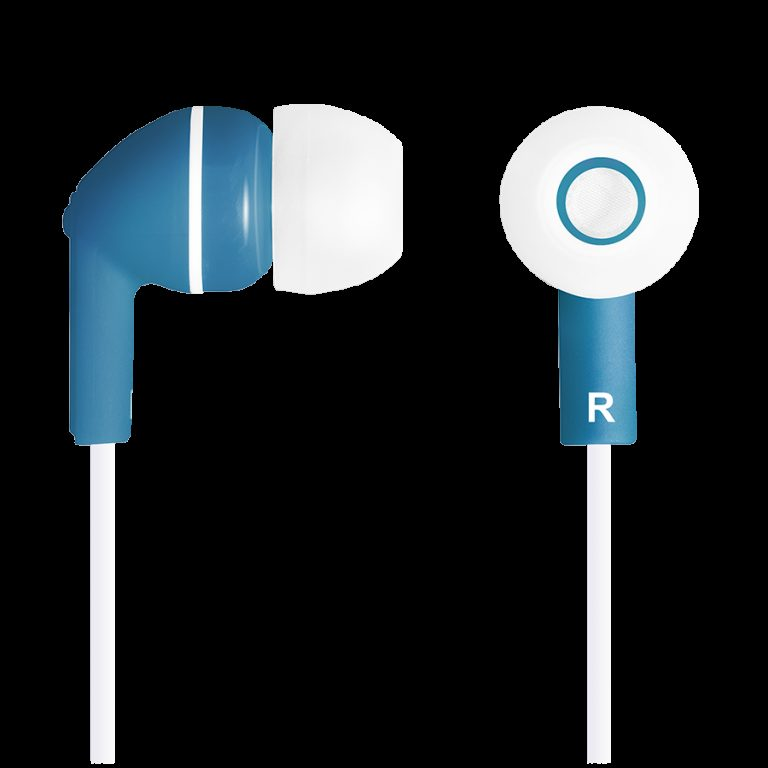 CANYON Stereo earphones with micophone, Dark blue