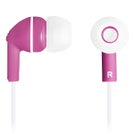 CANYON Stereo earphones with micophone, Purple