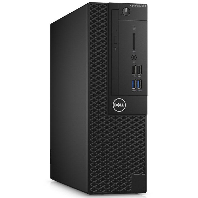 DELL Optiplex 3050 SFF, Intel Core i5 7500 (3.4-3.8GHz), Intel HD 630, 1x8GB DDR4, 256GB SSD, DVD+/-RW, USB Optical mouse, USB BG keyboard, VGA video port, Win 10 Pro, 3y NBD