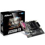 ASROCK Main Board Desktop (J3355 2.5GHz, DDR3 SO DIMM, 1xPCI 2.0×1,HDMI,VGA, 8ch, GLan,SATAIII,COM, LPT) Mini-ITX Box