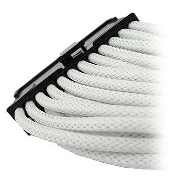 GELID 24pin Power extension cable 30cm individually sleeved UV WHITE