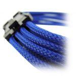 GELID 6+2pin VGA PCI-E 30cm individually sleeved BLUE