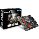 ASROCK Main Board Desktop H110 (S1151, 2xDDR4,1xPCI E 3.0 x16,1xPCI E 2.0×1, SATA III ,GLAN,DVD-D, USB3.0)micro ATX retail