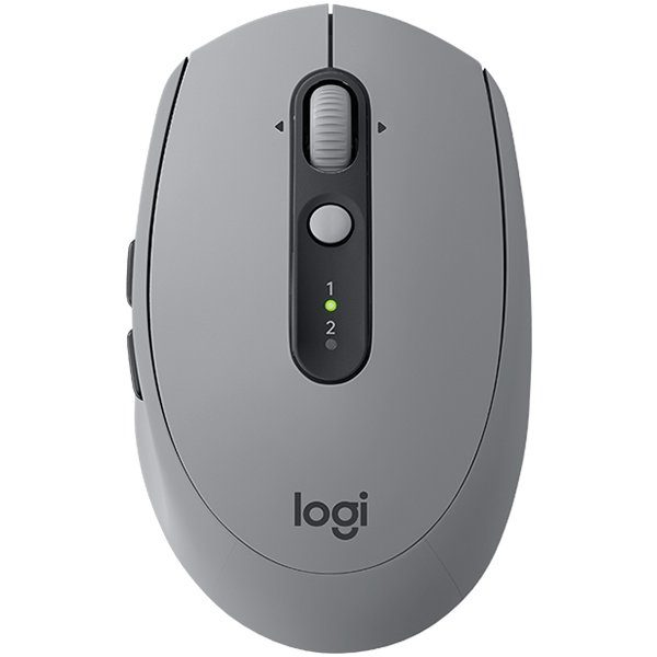 LOGITECH Wireless Mouse M590 Multi-Device Silent – EMEA – MID GREY TONAL