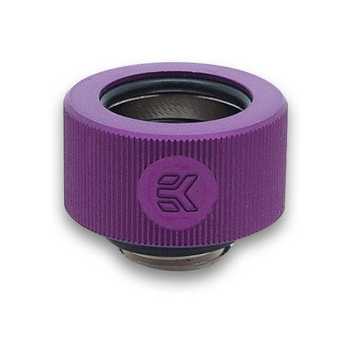 EK-HDC Fitting 16mm G1/4 – Purple