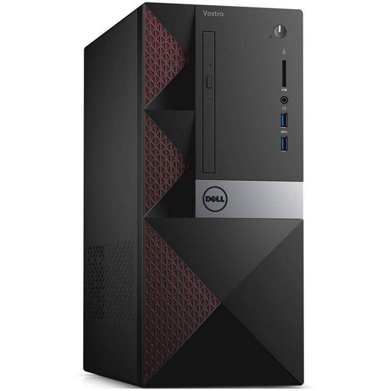 Dell Vostro 3667, Intel Core i3-6100, 4GB (1x4GB) DDR4 2400MHz, 500GB SATA (7200rpm), Intel Graphics, DVD+/-RW, WiFi 802.11bgn, Bluetooth 4.0, Dell USB Mouse, Dell KB216 BG Keybd, Windows 10 Pro (64bit), 3Yr NBD