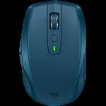LOGITECH Bluetooth Mouse MX Anywhere 2S – EMEA – MIDNIGHT TEAL