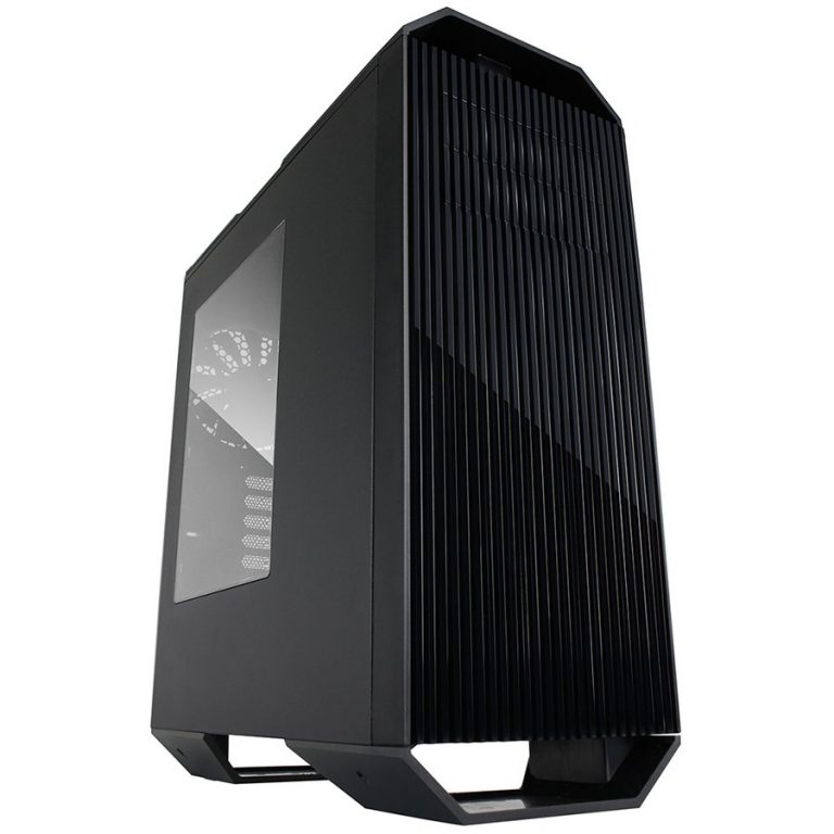 Chassis Monster II Tower, 7 slots, 2 X 5.25″, 1 X 3.5″ H.D./ 2 x 2.5″ SSD, 2 x AUDIO / 1 x USB3.0, PSU Optional,1 X 140mm Front LED Fan, 1 x 140mm Back Black Fan, 2 X 140mm TOP fan /opt./, Black