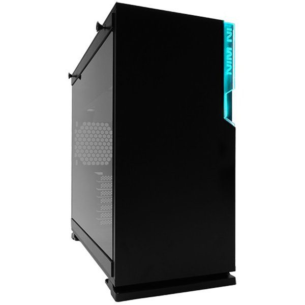 Chassis In Win 101C RGB LED Mid Tower,SECC, ABS, PC,Tempered Glass,ATX, Micro-ATX, Mini-ITX, Max:12″ x 10.5″,1XUSB 3.1 Gen 2 Type-C,2xUSB 3.0 HD Audio,1x120mm Rear Fan/120 mm Radiator 2x120mm Side Fan/240mm Radiator 3x120mm Bottom Fan/360mm Radiator,black