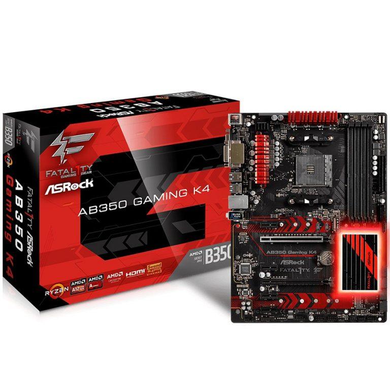 ASROCK Main Board Desktop AM4 B350 (SAM4,4xDDR4,4xPCI 3.0×16,4xPCI-E2.0x M.2, SATA III,USB3.0,VGA,DVD-D,HDMI,GLAN) ATX Retail
