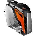Chassis COUGAR CONQUER Mid-Tower,Aluminum Alloy,Mini ITX/MicroATX/ATX, USB 3.0×2 Mic x1,Audio x1,COUGAR CFD 120mm LED fan x3,Cable Management, 7 Expansion slots,Tempered glass side panel-Both sides,Dimension(WxHxD) 255x580x685 mm