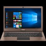 Prestigio SmartBook 133S, 13.3″(1920*1080) IPS (anti-Glare), Windows 10 Home, up to 2.4GHz DC Intel Celeron N3350, 3GB DDR, 32GB Flash, BT 4.0, WiFi, Micro HDMI, SSD slot (M.2), 0.3MP Cam, EN+BG kbd, 5000mAh, 7.4V bat, Dark brown