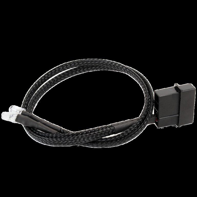 LED 5mm TWIN ULTRA WHITE