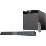 """Bluetooth Sound Bar Audio System F&D T-360X 80W (RMS) 4×2.25"""" full range drivers, 8"""" driver for subwoofer, 20Hz – 120Hz, 130Hz-20kHz, Wireless IR full function remote control, CSR Bluetooth 4.0, Optical input, AUX"""