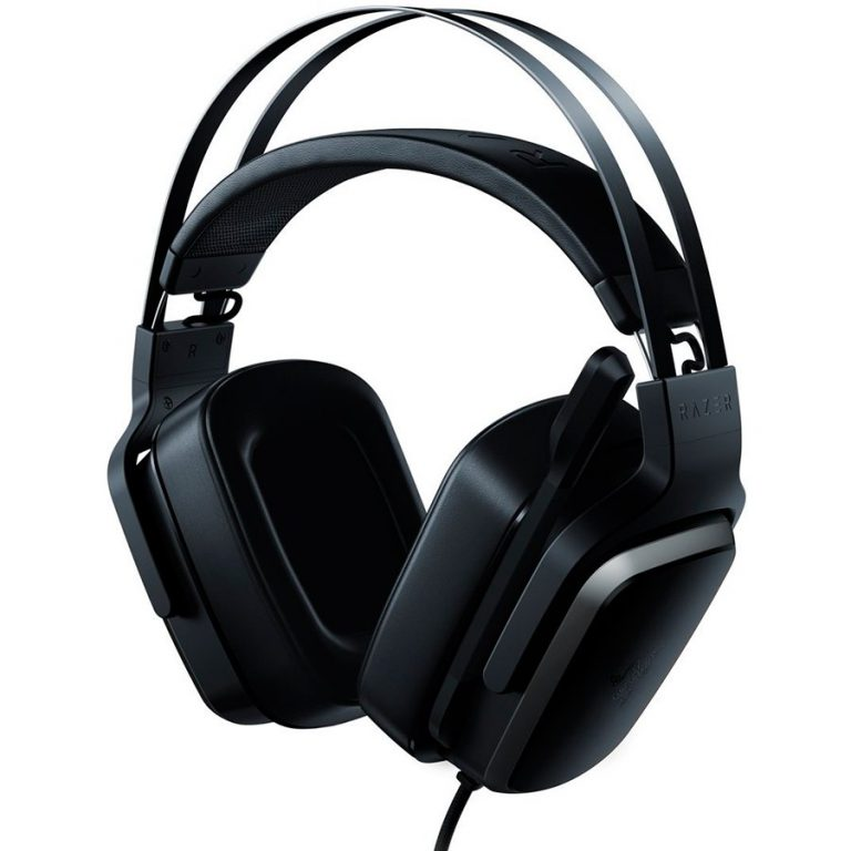 Razer Tiamat 7.1 V2 Analog 7.1 Surround Gaming Headset ,10x audio drivers, Foldable unidirectional microphone,Audio Control Unit,1 USB connector for power,PC connector: 3.5 mm microphone jack, 4 x 3.5 mm audio jacks