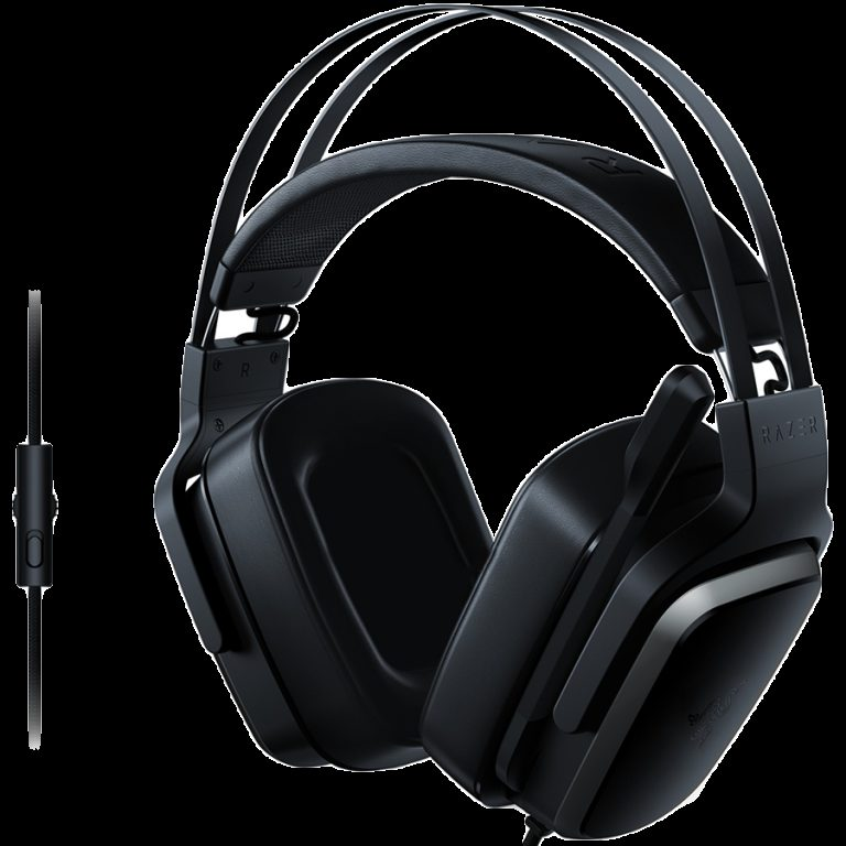 Razer Tiamat 2.2 V2 – Analog Gaming Headset,Multiplatform compatibility,4 x 50 mm drivers, Foldable unidirectional microphone ,In-line volume control, 3.5 mm combined audio jack