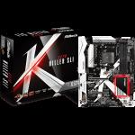 ASROCK Main Board Desktop Z370 (S1151, 4xDDR4,3xPCIe x16,4xPCI Ex1, 6 SATA3, Ultra M.2 ,GLAN,HDMI, 2 USB 3.1 ) ATX retail