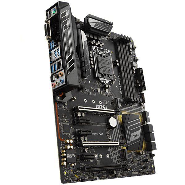 MSI Main Board Desktop Z370 (S1151,4xDDR4,3xPCI-Ex16,3xPCI-Ex1, 2x M.2, USB3.1,USB2.0,SATA III,HDMI,DVI,GLAN) ATX
