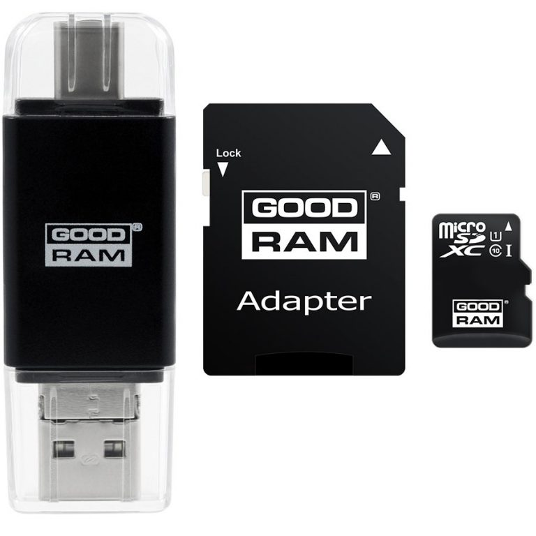 GOODRAM All in one 8GB MICRO CARD class 10 UHS I + card reader typ C