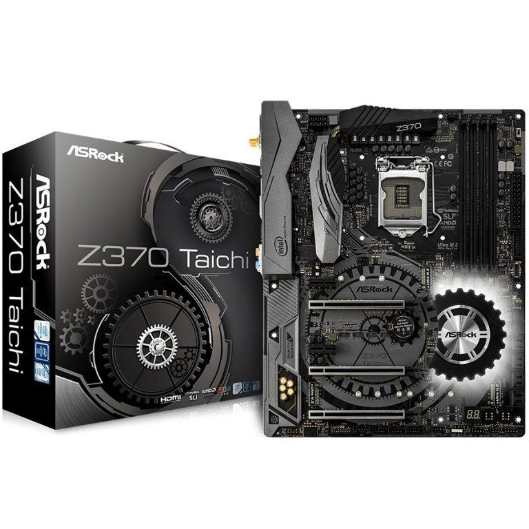 ASROCK Main Board Desktop Z370 (S1151, 4xDDR4,3xPCIe x16,2xPCI Ex1, 6 SATA3, 2xUltra M.2 ,GLAN,HDMI,DP,USB 3.1 ) ATX retail