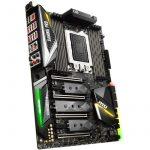 MSI Main Board Desktop X399 (sTR4, 8xDDR4, 4xPCIE3.0,2xPCIx1, SATA III,M.2,Raid,GLAN,USB3.1) ATX retail
