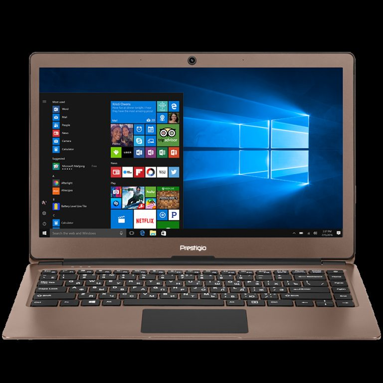 Prestigio SmartBook 133S, 13.3″(1920*1080) IPS (anti-Glare), Windows 10 Pro, up to 2.4GHz DC Intel Celeron N3350, 3GB DDR, 32GB Flash, BT 4.0, WiFi, Micro HDMI, SSD slot (M.2), 0.3MP Cam, EN+BG kbd, 5000mAh, 7.4V bat, Dark brown