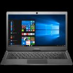 Prestigio SmartBook 133S, 13.3″(1920*1080) IPS (anti-Glare), Windows 10 Pro, up to 2.4GHz DC Intel Celeron N3350, 3GB DDR, 32GB Flash, BT 4.0, WiFi, Micro HDMI, SSD slot (M.2), 0.3MP Cam, EN+BG kbd, 5000mAh, 7.4V bat, Dark grey