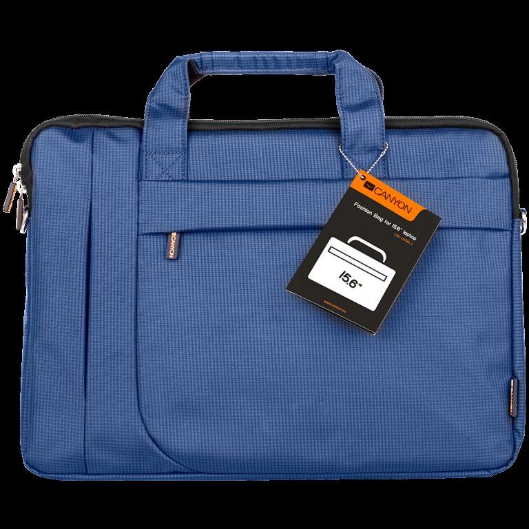 CANYON Fashion toploader Bag for 15.6″ laptop, Blue