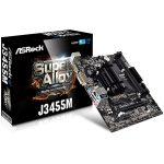 ASROCK Main Board Desktop (J3455 2.3GHz, DDR3 DIMM, 1xPCI 2.0×1,1xPCI_Ex16,HDMI,VGA,DVI, 8ch, GLan,SATAIII,) MicroITX Box