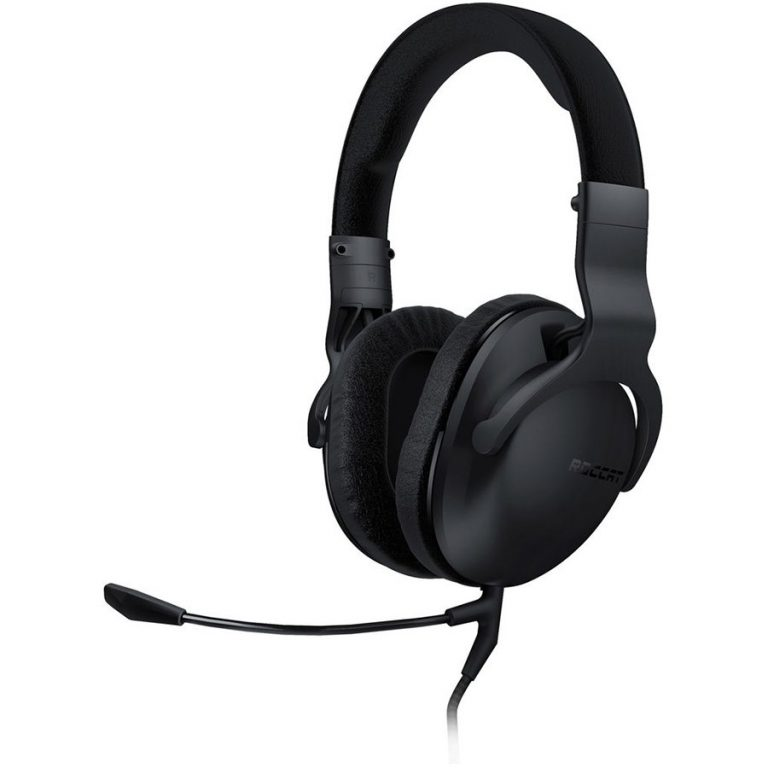 ROCCAT Cross – Multi-platform Over-ear Stereo Gaming Headset,Dual microphones,Measured Frequency response:20∼20000Hz,Impedance:32Ω,Max. SPL at 1kHz:98dB,Drive diameter:50mm,Driver unit material:Neodymium magnet