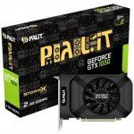 VC Palit nVidia GTX1050 StormX 2048MB 128BIT , Dual DVI+HDMI+DP part N# NE5105001841F