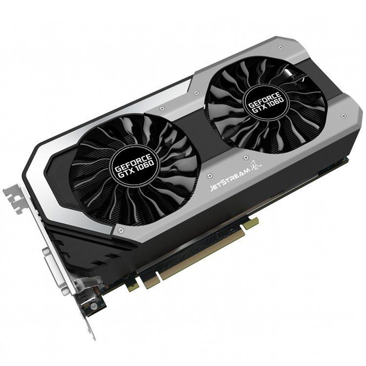 VC Palit nVidia GTX1060 Jetstream 6GB GDDR5, 192bit, DVI, HDMI, DPx3 part# NE51060015J9J