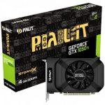 VC Palit nVidia GTX1050Ti StormX 4096MB 128BIT, Dual DVI+HDMI+DP part N #NE5105001841
