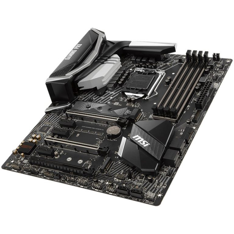 MSI Main Board Desktop Z370 (S1151, 4xDDR4, 3xPCI-Ex16,3xPCI-Ex1, USB3.1,USB2.0, 6xSATA III,2xM.2,Raid, HDMI,DP,SLI, GLAN) ATX Retail