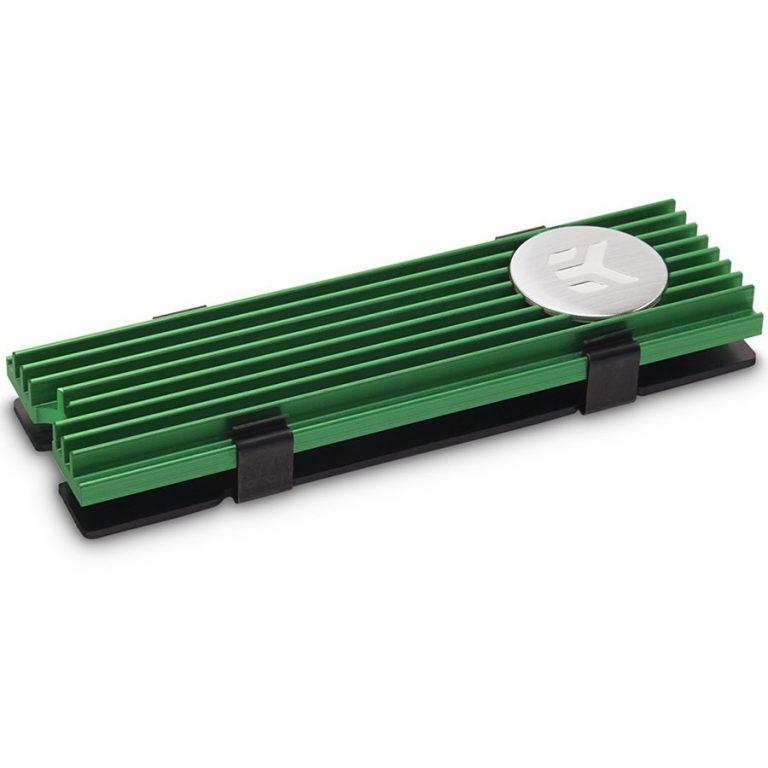 EK-M.2 NVMe Heatsink – Green
