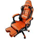 Gaming Chair Raidmax DK709OG Black/Orange
