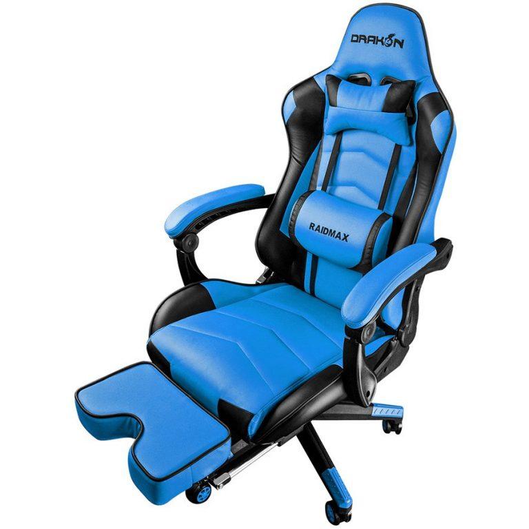 Gaming Chair Raidmax DK709BU Black/Blue