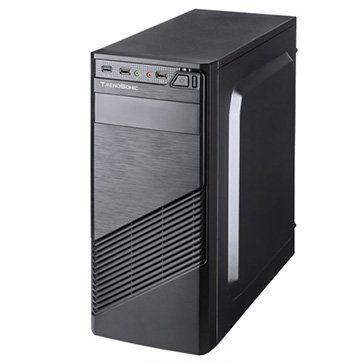 Chassis FC-F61A, ATX, 7 slots, 2 X 5.25″, 3 X 3.5″ H.D., 2 X 2.5″, 1 x USB 3.0, 2 X USB2.0 / 2 x AUDIO /, PSU 550W 12 sm, 20+4pin, 2 x IDE, 3 x SATA, Black